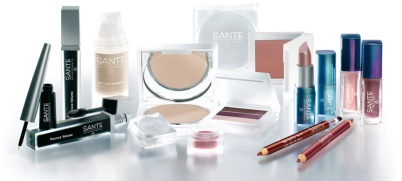 Maquillaje ecológico Sante