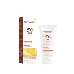 Crema-solar-facial-SPF 50- Acorelle