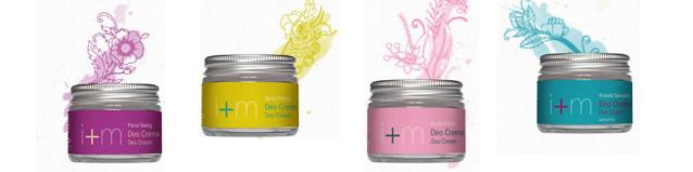 Desodorantes en crema I+M