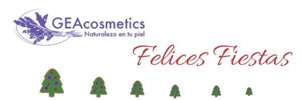 GEAcosmetics. Felices Fiestas