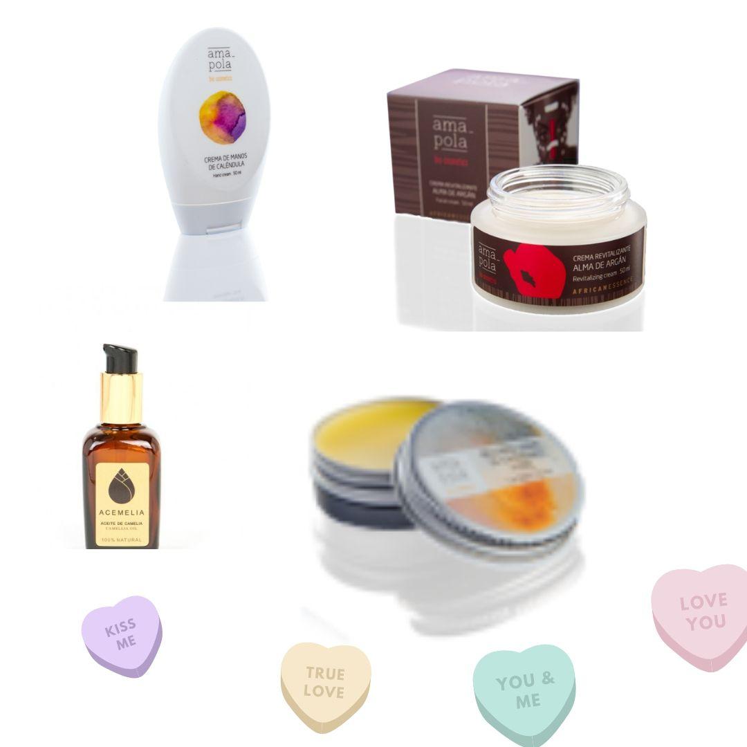 Regala cosmetica natural en San Valentin
