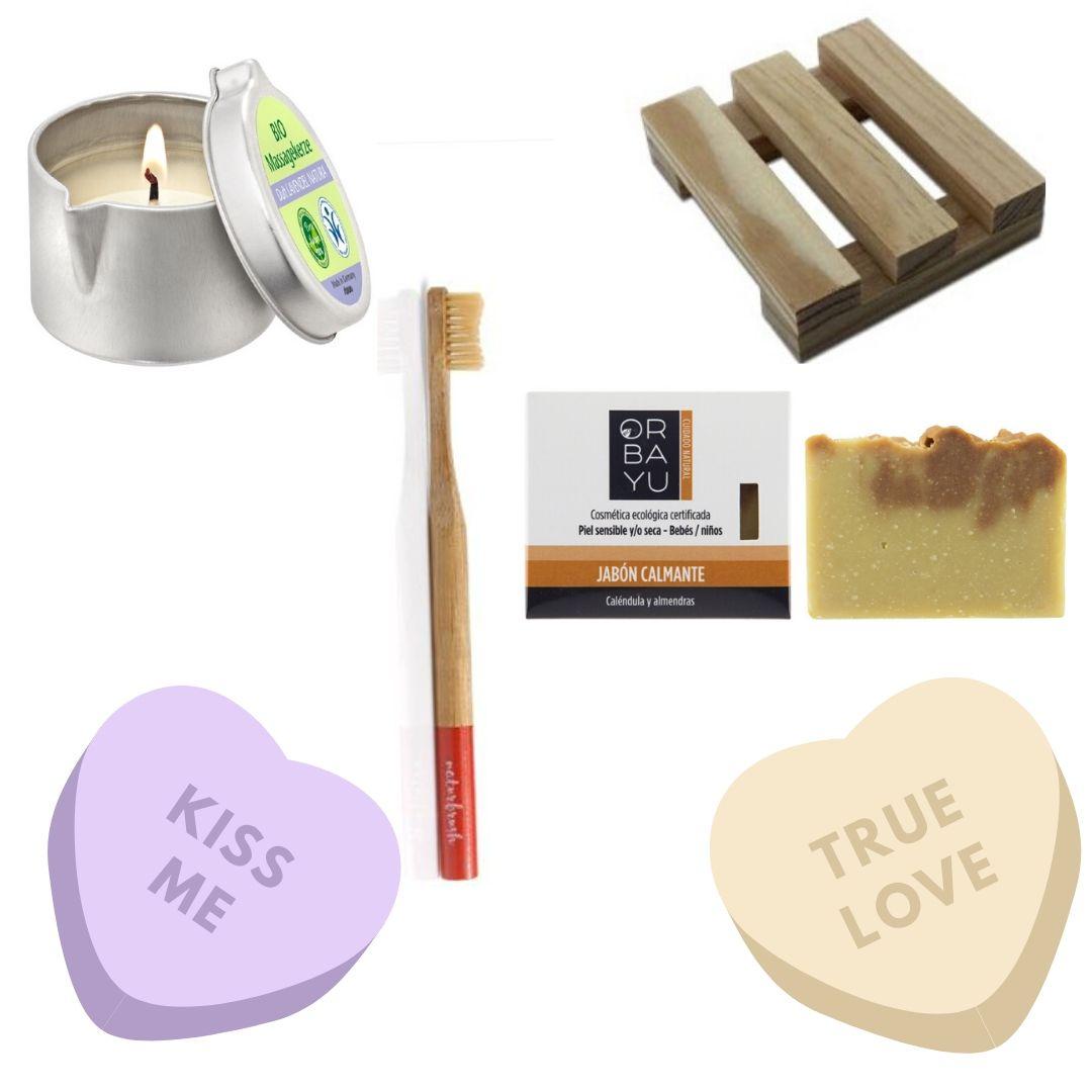 regalo sostenible para San Valentin