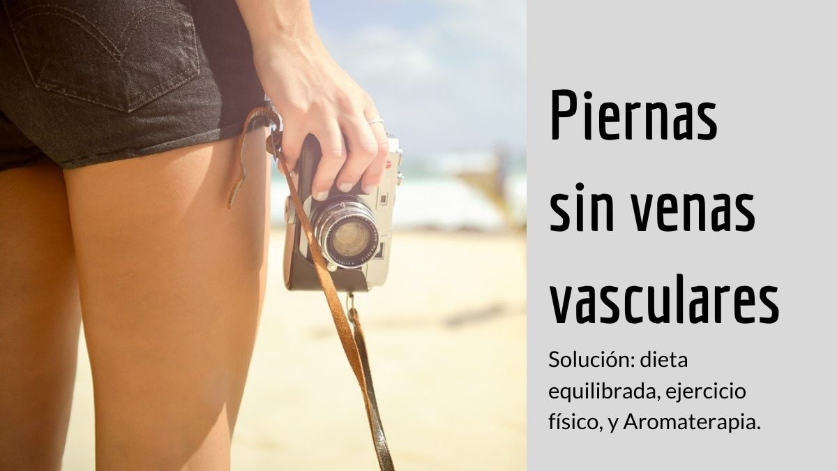 Piernas sin venas vasculares