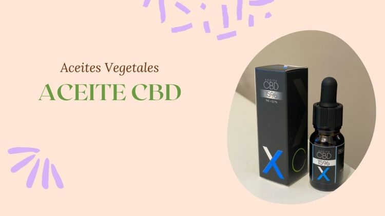 Aceite CBD natural